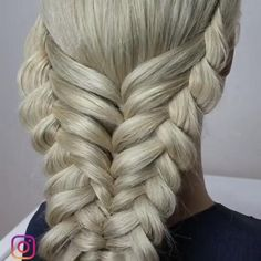 Dutchbraids by another_braid 27 schne und frische braid frisur ideen fr kurze haare Easy Hairstyles For Long Hair, Braids For Long Hair, Up Hairstyles, Halloween Hairstyles, Hairstyle Men, Style Hairstyle, Unique Braided Hairstyles, Wedding Hairstyles, Hairstyle Braid