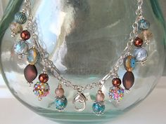 Treasure Keeper Necklace  Cool Breeze by MadamNina on Etsy, $30.00