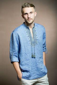 Indian Men Fashion, African Fashion, Boho Fashion, Mens Fashion, Bordados Viking, Stylish Mens Outfits, Cool Outfits, Gents Kurta Design, Russian Fashion