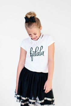 Falala Shirt - Girls