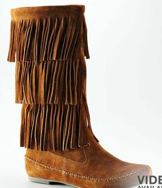 LC fringed boots