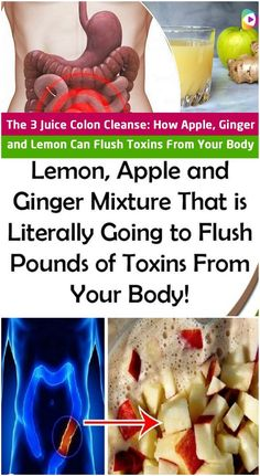 The Ginger, Apple, And Lemon Mixture Flushes Pounds Of Toxins From The Colon Home Recipes, Healthy Recipes, Healthy Food, Healthy Sweets, Clean Recipes, Healthy Drinks, Water Recipes, Healthy Lunches, Healthy Chicken
