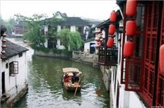 Zhujiajiao is the nearest water town from Shanghai with a history of 1700 years, which can be accessible via bus from Pu'an Rd Bus Station near People Sq Shanghai Attractions, Places To See, Places Ive Been, Shanghai City, Bus Station, China Travel, Our World, Around The Worlds, Places