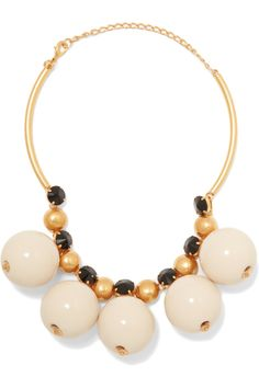 Marni Gold-plated resin necklace€450 Made in Italy (2016)