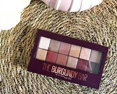 palette fards à paupières The Burgundy Bar MAYBELLINE