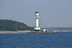 Leuchtturm in der Kieler Förde