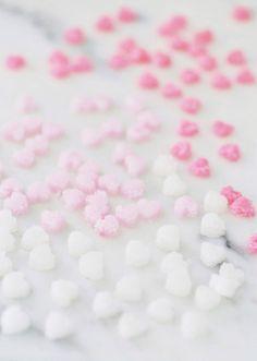 Ombre Valentine Sugar Hearts DIY!