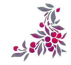 poinsettia designs stencils - Google Search