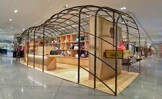 Moynat's travelling boutique begins world tour at Galeries Lafayette, Paris | Fashion | Wallpaper* Magazine