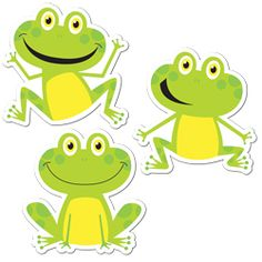 """Frogs 10"""" Jumbo Designer Cut-Outs"""