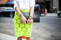 Neon with white