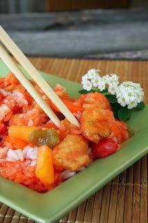 Crockpot Sweet & Sour Chicken 1 carrot, diced 1 green pepper, diced 1 ...