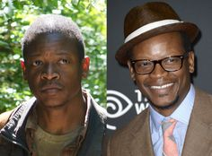 Lawrence Gilliard Jr. (Bob Stookey) from The Walking Dead Stars In and Out of Costume | E! Online