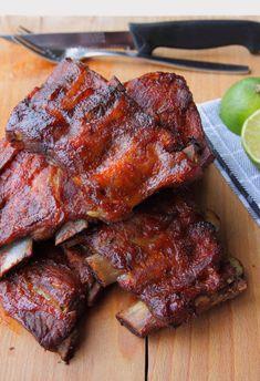 Lamb Recipes, Asian Recipes, Cooking Recipes, Ethnic Recipes, Bbq Spare Ribs, Bbq Grill, Soul Food, Tapas, Pork