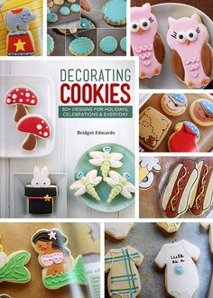 Decorating Cookies by Bakerella, via Flickr