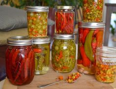 in the kitchen :: pickled chiles Canning Recipes, My Recipes, Favorite Recipes, Chilis, Gyro Pita, Key Lime, Everyday Food, Food Inspiration, Pickles