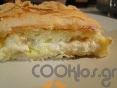 081b4ad7a3f Υπέροχη εύκολη τυρόπιτα με σεβρ μετσοβίτικο και πλούσια γεύση από το  COOKLOS!😀 Πλούσια βουτυρένια