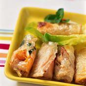 Nems aux crevettes - une recette Asiatique - Cuisine