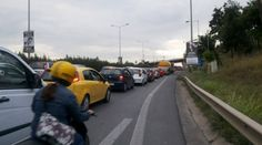 Magazino1: Θεσσαλονίκη: Μποτιλιαρισμένοι δρόμοι, γεμάτες πιάτ...