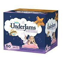 Pampers - UnderJams for Girls, Size 7 (38-65 lbs.), 50 ct.