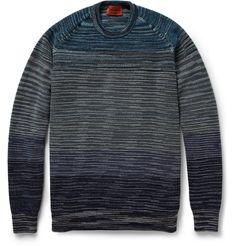 MissoniStriped Wool-Blend Sweater|MR PORTER