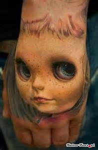 creepy face 3D - Tattoo Fans - Galeria najlepszych tatuaży Tattoo 1