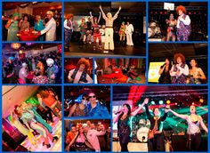 Seventies & eighties party als thema voor het personeelsfeest. www.advance-events.nl