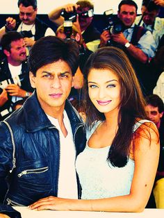 It doesn't get much bigger than this. #SRK #Aishwarya #Bollywood