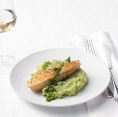 Menü 1 - Hauptgang: Lachs mit Brunnenkresse - Rezepte: Hochzeitsmenüs - 3 - [ESSEN & TRINKEN]