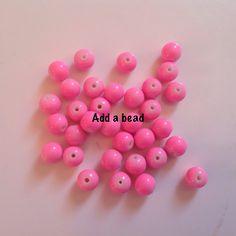 ADD A BEAD: GB6-6 size 6mm price : 35 inr 50 beads