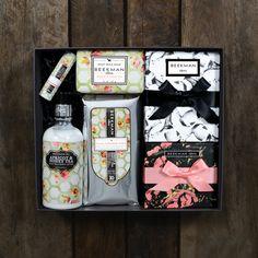 Bounty Box Farm-to-Skin Box Gift Set | Goat Milk + Honey + Heirloom Flowers | B. More Beautiful | B. 1802