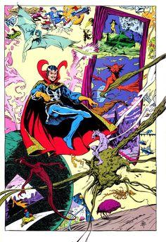 Doctor Strange by Bret Blevins