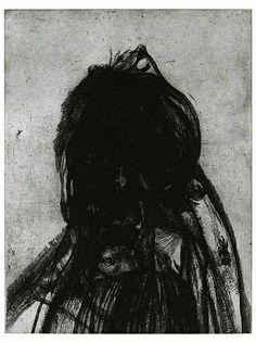 Glenn Brown, Layered Portrait (after Lucian Freud) 4