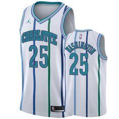 Charlotte Hornets Cody Zeller Association White Swingman Jersey