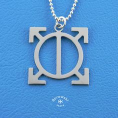 Orbis epsilon symbol pendant free shipping   от BorowskiStore