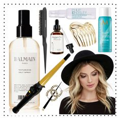 """""""Untitled #212"""" by sixthandsocial on Polyvore featuring beauty, RHYTHM, Balmain, Moroccanoil, Sephora Collection, Philip Kingsley, Tiffany & Co. and Chanel"""