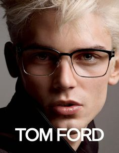 French Model Arthur Gosse Goes Blond for Tom Ford Eyewear Spring 2015 Mens  Campaign 6293e09dfe7b
