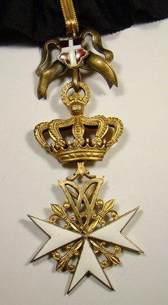 Cross of a Donat (male) of Devotion. #OrderofMalta #SMOM