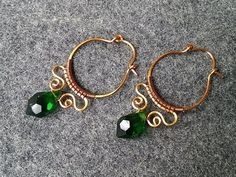 simple circles bracelet - handcrafted copper jewelry Welcome to the online classes at home with the theme DIY wire jewelry - handmade copper jewelry - also h. Copper Jewelry, Ear Jewelry, Jewelery, Copper Wire, Diamond Jewelry, Wire Jewellery, Diamond Stud, Handmade Wire, Earrings Handmade