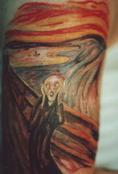 tattoo munch