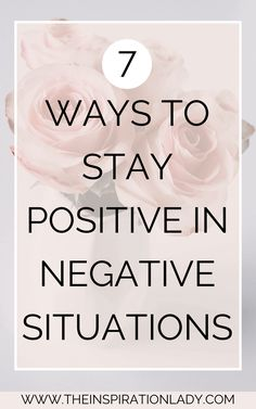 In my opinion, maintaining a positive mindset is one of the most important things you can do in terms of living a happy life. Here are 7 ways that I keep a positive mindset in negative situations! Motivation Positive, Positive Mindset, Positive Affirmations, Positive Living, Change Your Mindset, Success Mindset, Growth Mindset, Negative Thoughts, Positive Thoughts