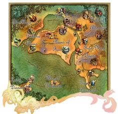 Final Fantasy Crystal Chronicles map