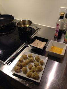 Homemade chili cheese balls in the making. Very nice. #cheese #foodporn #food #chili #balls #theywheregood