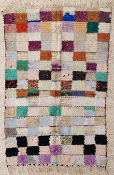 boucherouite rug moroccan rugs rag rug berber by BOUCHEROUITE