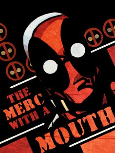 Deadpool poster by VioLentzIV.deviantart.com
