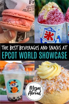 Looking for all the best best beverages sweet and savory snacks at Epcot World Showcase? Youre in luck because snacking at Epcot is our favorite! Weve put together this ultimate guide to the best snacks to get in each country at Epcot! Check it out! Disney World Food, Disney World Vacation, Disney Vacations, Disney Worlds, Jamaica Vacation, Orlando Vacation, Disney Travel, Family Vacations, Disney Snacks