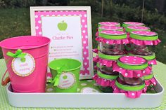 apple of our eye party-LOVE