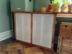 Got an ugly radiator? Cover it with IKEA ALGOT