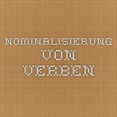 nominalisierung verbalisierung finals tze deutsch training pinterest deutsche grammatik. Black Bedroom Furniture Sets. Home Design Ideas