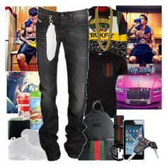 """driving to get my sisters car , letting her drive mine till we get there, & geting her bday stuff.. KAYLON ES ONLINE [Dont save pics]"" by jazzmine-small ❤ liked on Polyvore featuring Trukfit, Chanel, Gucci, Joyrich, Retrò, Diesel, Marc Jacobs and Samsung"